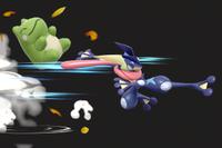 Vista previa de Sustituto en la sección de Técnicas de Super Smash Bros. Ultimate