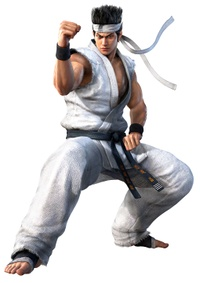Art oficial de Akira Yuki en Virtua Fighter 5: Ultimate Showdown