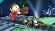 Aldeano atacando (3) SSB4 (Wii U).jpg