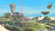 Vista general de Altárea SSB4 (Wii U).jpg