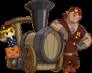 Toon Link y Bigboy Spirit Tracks.png
