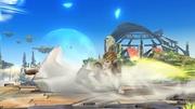 Ataque de Recuperación Boca Abajo Zelda SSB4 Wii U.jpg