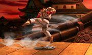 Ryu realizando Tatsumaki Senpukyaku SSB4 (3DS).JPG