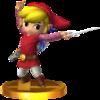Trofeo de Toon Link (alt.) SSB4 (3DS).png