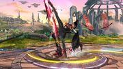 Ataque Fuerte Lateral Bayonetta (3) SSB Wii U.jpg