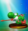 Trofeo de Yoshi (Smash 1) SSBM.png