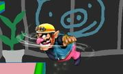 Ataque aéreo normal de Wario (1) SSB4 (3DS).JPG