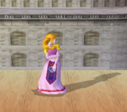Pose de espera de Zelda (2-3) SSBM.png