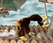 Ataque de recuperación de cara hacia arriba de Donkey Kong (2) SSBM.png