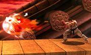 Ryu realizando Shakunetsu Hadoken SSB4 (3DS).JPG