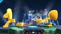 Yellow Devil en el escenario Castillo del Dr. Wily SSB4 (Wii U).jpg