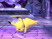 Ataque fuerte lateral Pikachu SSBB.jpg