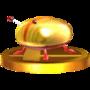 Trofeo de Escarabajo de oro iridiscente SSB4 (3DS).png