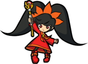 Artwork de Ashley en WarioWare Smooth Moves.png