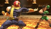 Captain Falcon y Little Mac en el Coliseo de Regna Ferox SSBU.jpg