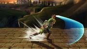 Ataque Smash lateral Link SSBB (2).png