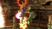 Captain Falcon atacando a Link en al Pirosfera SSB4 (Wii U).png