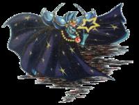 Art oficial del Mago Pesadilla en Kirby: Pesadilla en Dream Land