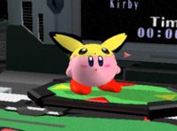 Copia Pichu de Kirby (1) SSBM.png