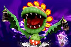 Vista previa de Pepito piraña/Floro Piraña en la sección de Técnicas de Super Smash Bros. Ultimate.