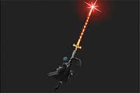 Vista previa de Espada de la Creación en la sección de Técnicas de Super Smash Bros. Ultimate