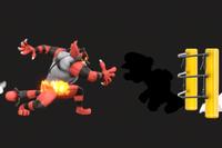 Vista previa de Contra las Cuerdas/Contra las cuerdas en la sección de Técnicas de Super Smash Bros. Ultimate