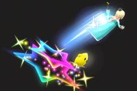 Vista previa de Salto estelar en la sección de Técnicas de Super Smash Bros. Ultimate