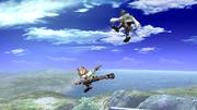 Fox Ataque Aereo hacia adelante, tercer golpe-SSBB.png