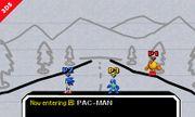 Pac-Man, Sonic y Mega Man en PictoChat 2 SSB4 (3DS) (2).jpg