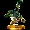 Trofeo de Fox (alt.) SSB4 (Wii U).png