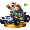Trofeo de Funky Kong (Todoterreno) SSB4 (Wii U).png