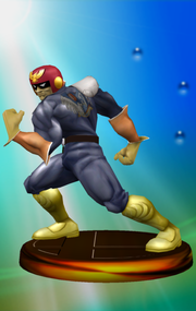 Trofeo de Captain Falcon (Smash 1) SSBM.png