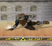 Ataque fuerte hacia abajo de Ganondorf SSBM.png