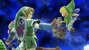 Créditos Modo Leyendas de la lucha Link SSB4 (Wii U).png