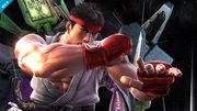 Ryu en la Estación espacial SSB4 (Wii U).jpg