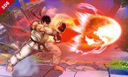 Ryu usando su Hadoken SSB4 (3DS).jpg
