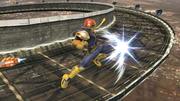 Ataque aéreo delantero de Captain Falcon SSB4 (Wii U).png