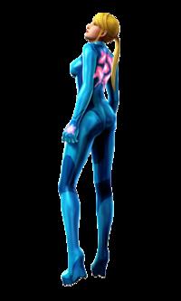 Art oficial de Samus Zero en Metroid: Other M