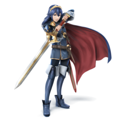 Art oficial de Lucina en Super Smash Bros. for Nintendo 3DS / Wii U.