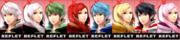 Paleta de colores de Daraen (JAP) SSB4 (3DS).png