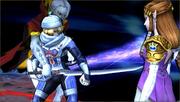 Créditos Modo Leyendas de la lucha Sheik SSB4 (3DS).png