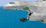 Cañones de Great Fox destruidos SSBB.png
