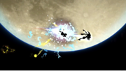 Greninja usando Técnica Floral Ninja (2) SSB4 (Wii U).png