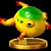 Trofeo de Sapo gigante amarillo SSB4 (Wii U ).png