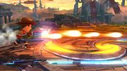 Ataque Smash lateral Tirador Mii SSB4 Wii U.jpg