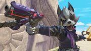 Wolf usando su bláster SSBU.jpg