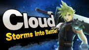 Cloud Storms Into Battle!.png