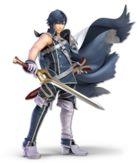 Art oficial de Chrom en Super Smash Bros. Ultimate