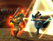 Golpe Trifuerza Link (5) SSBB.png