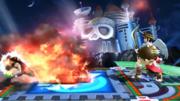 Inmunidad de Little Mac ante el ataque del Aldeano SSB4 (Wii U).png